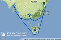 Itinerary of the 2014 Cruise